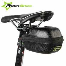ROCKBROS Road Mountain Bike Bicycle Bag Cycling Saddle Bag MTB Seatpost Basket Waterproof Tail Rear Bag Bicycle Accessories