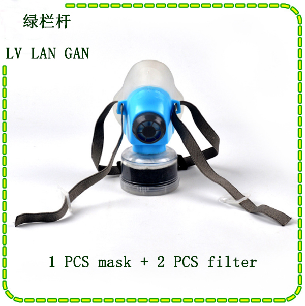 Brand 9588 respirator gas mask high quality Silica gel Activated carbon chemical gas mask Painting pesticide respiration mask high quality respirator gas mask brand practical type protective mask painting pesticide industrial safety chemical gas mask