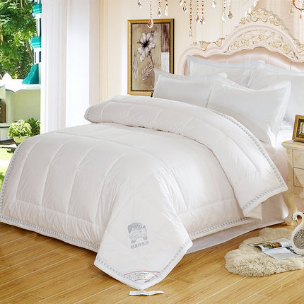 100%Australian Wool Comforter Embroidery Winter Blanket Queen Quilt King Size Quilted top Comforters capa edredones blanco futon