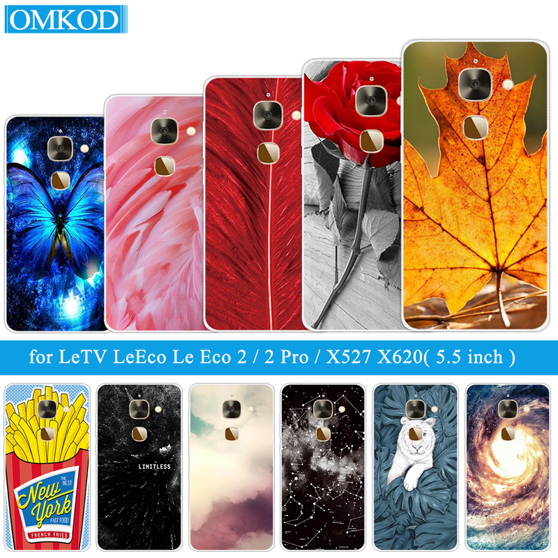 for Letv <font><b>Le</b></font> <font><b>2</b></font>/2Pro X20 X25 Pro X620/X620 X520 X526 X <font><b>527</b></font> Soft Silicone for LeEco <font><b>Le</b></font> S3 X626 X622 Le2 Pro X20 Plumage Phone Cases image