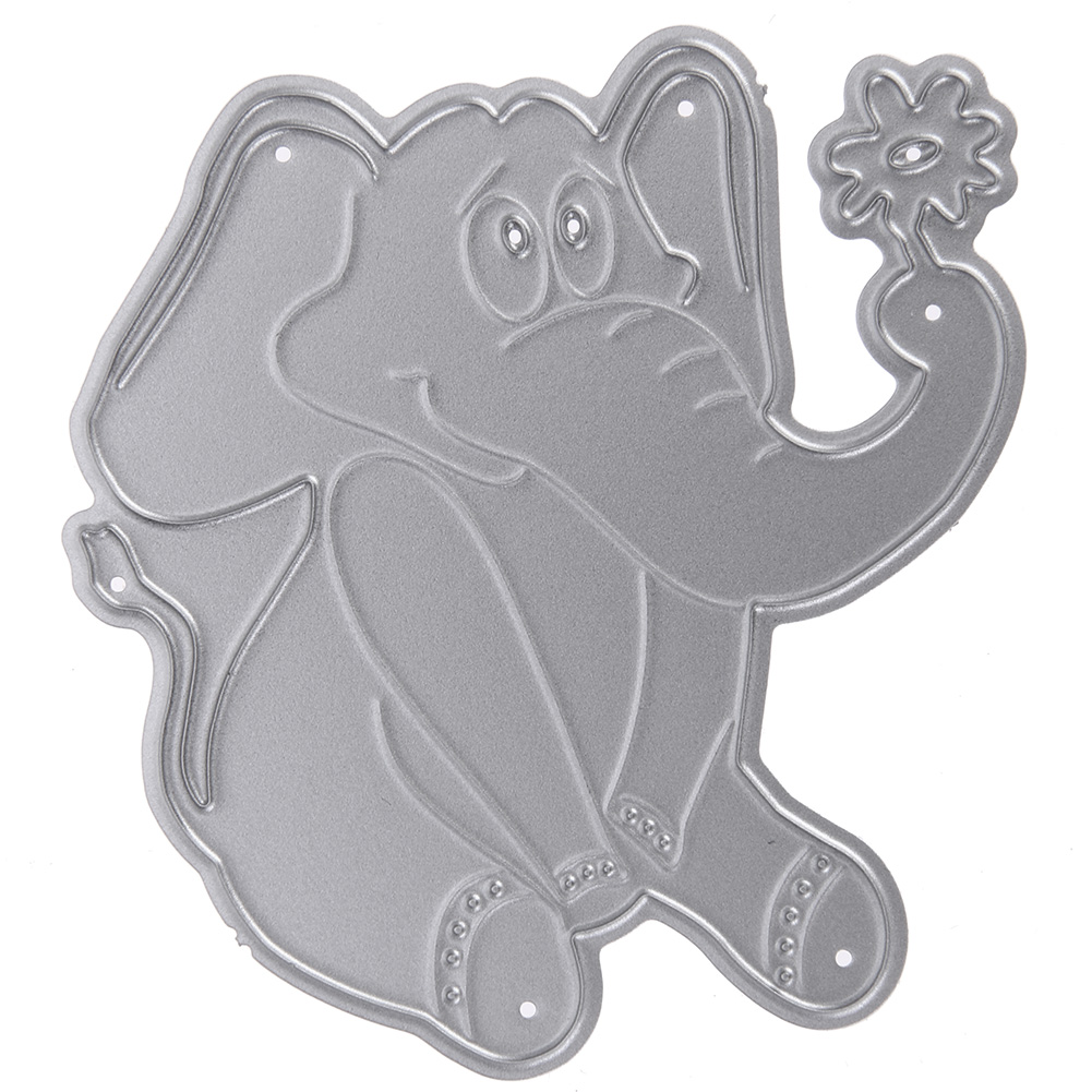 Elephant Models Metal Cutting Dies Stencil DIY Album Scrapbook Card Decor Paper Cards Decorative Die Cut Scrapbooking Craft Dies