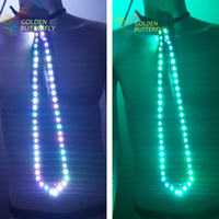 LED Tie 2017 Luminous Men Leisure Fashion Narrow Arrow Necktie Colorful Color Wedding Party Business Tie Dance accessories