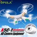 HL 2016 Hots-venda EPULA X5C-1 2.4 GHz 4CH 6 Eixo RC Quadcopter Com Câmera HD Presente Brinquedo OC12