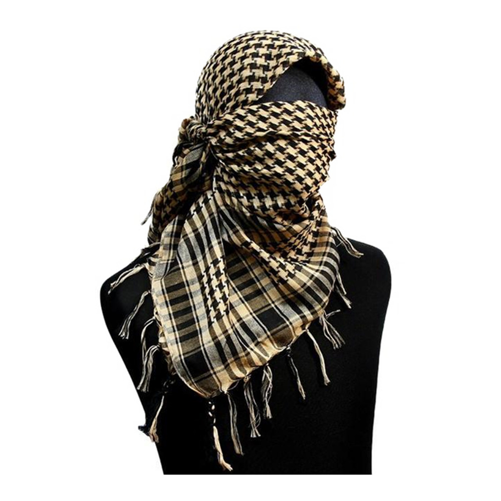 "Military Scarf Tactical Scarf Wrap Us Military 110cm 42"" Veil Scrim Camo Scarf B White Od Tan With A Long Standing Reputation"