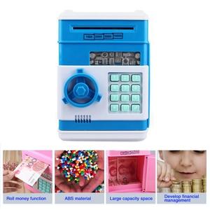 Электронная Копилка tirelire для детей цифровая копилка для монет безопасный депозит ATM машина подарок на день рождения детей