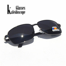 Mens Polarized Sunglasses Retro Rectangle Polarizer Lens Sun