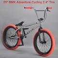 "Excelli BXM Aventura en Bicicleta Mini Bicicleta 20 ""bicicleta Bicicleta BMX Bicicleta de 2.4"" anchura Del Neumático Ciclismo Bike Show 20.5 TT Marco De Acero"