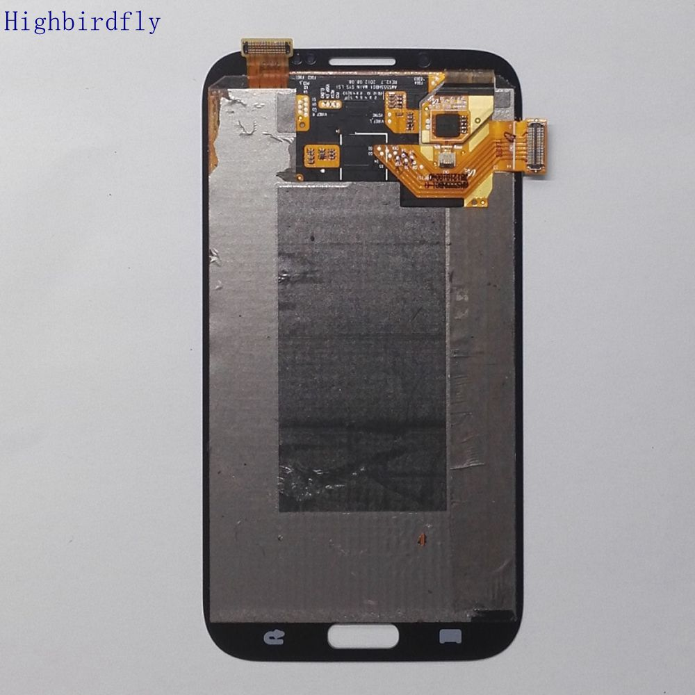 Original Used For Samsung Galaxy Note 2 N7100 N7105 Lcd Screen+display+Touch Glass Assembly Replacement Amoled image