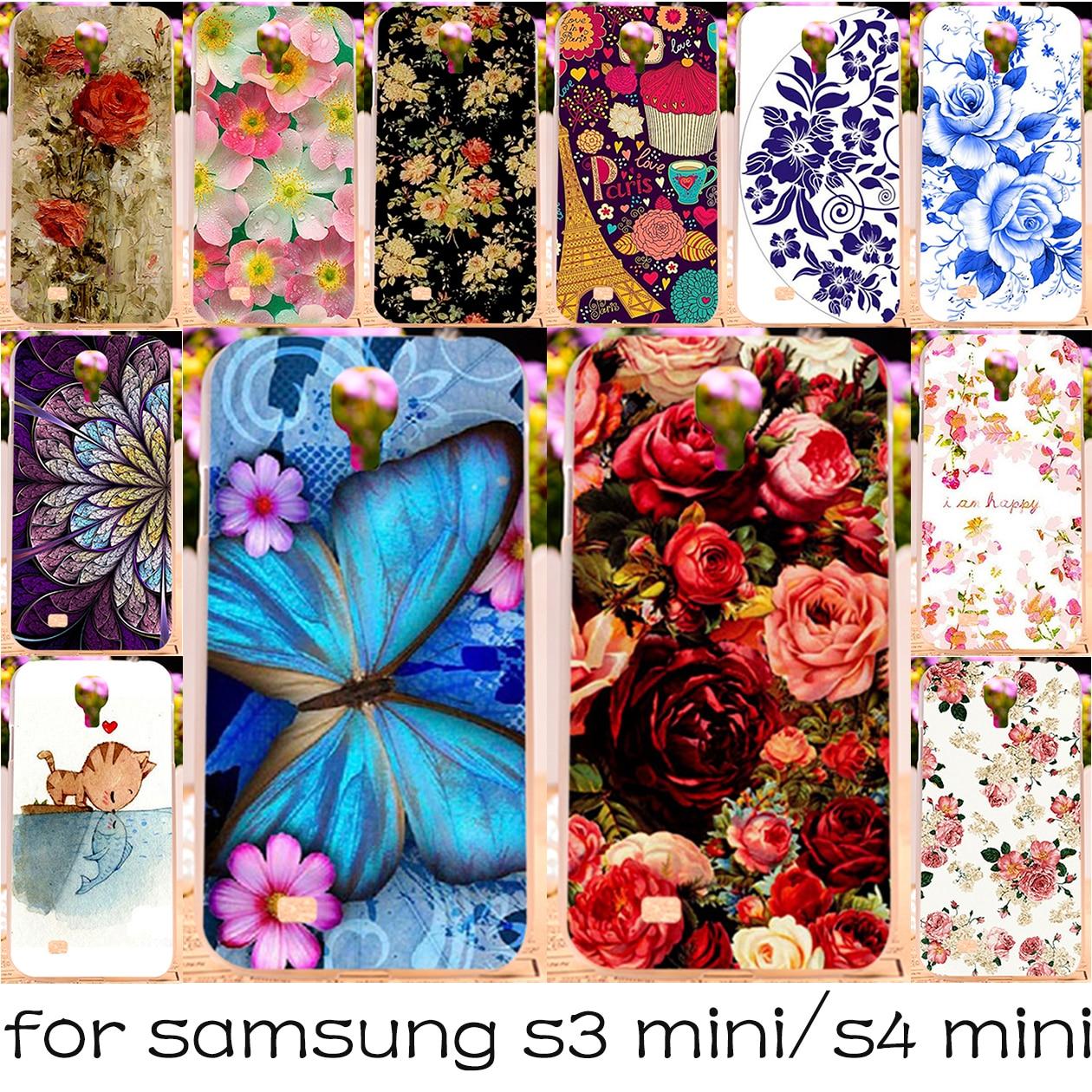 Silicon OR Plastic Phone Case For Samsung Galaxy I8190 S3 mini 8190 4.0''/I9190 S4 mini GA009 GT-i9190 i9192 9190 4.3'' Cover
