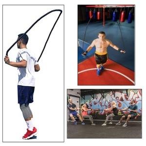 Image 5 - 2.8m x 25mm Heavy Jump Rope Crossfit Ponderata Battaglia Corde Per Saltare Power Training Migliorare La Forza Per Il Fitness Palestra di Casa attrezzature