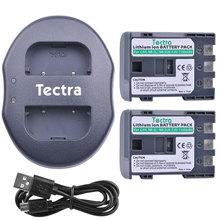 Tectra 2pcs 1100mAh NB-2L NB-2LH Battery+USB Dual Charger for Canon 350D 400D G7 G9 S30 S40 z1 NB2L NB2LH Rechargeable Battery