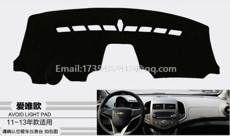 For Daewoo Gentra Chevrolet Kalos Lova aveo Nexia Holden Barina 2002 2011 Dashmats Car-styling Accessories Dashboard Cover
