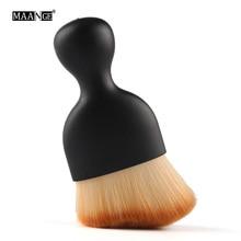 MAANGE New Multipurpose Wavy S Shape Makeup Brush Foundation face Contour shading Powder Brush Blending Make Up beauty tool