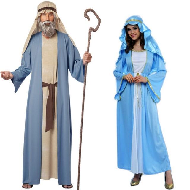 Erwachsene frauen männer blaue Halloween party kleidung Arabisch ...