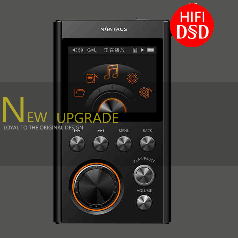 NiNTAUS X10 MP3 Player DSD128 24Bit/192Khz Entry-level HiFi Lossless Music Portable Players with Independent DAC free Earphone