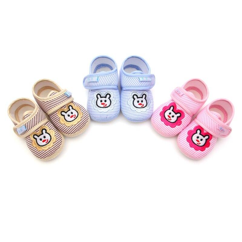 New 2017 Soft Bottom Anti-skid School Shoes Baby Leisure Baby Boys Girls Newborn Prewalker Toddler Shoes 0-12M R1
