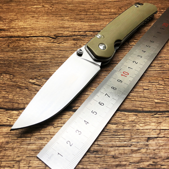 BMT Bear F95 110 Folding Knife D2 Blade G10 Handle Survival Camping Utility Knives Pocket Rescue Outdoor Military Knife EDC Tool 3