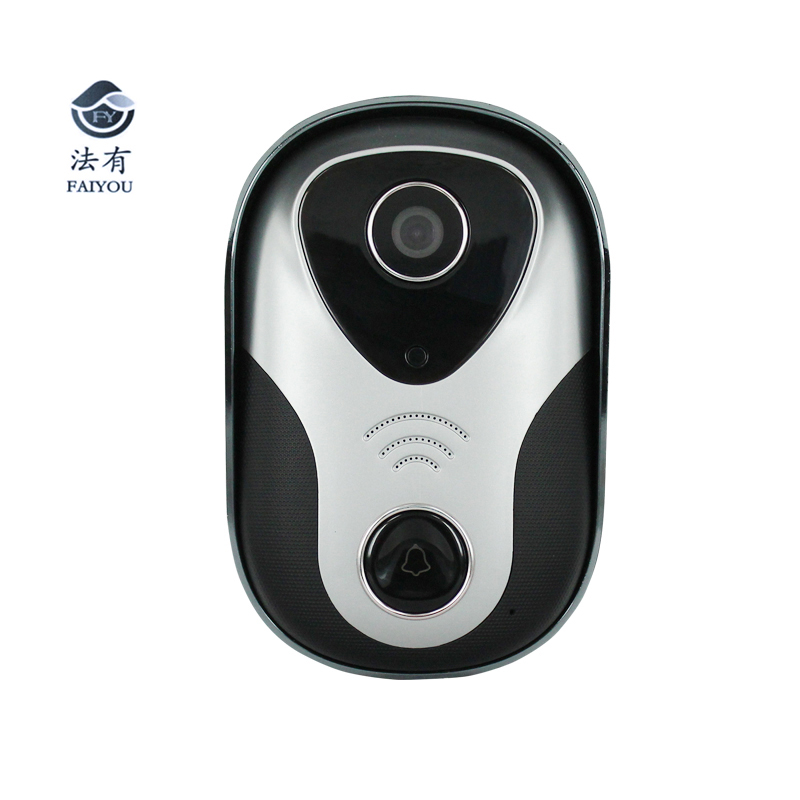 Wireless IP Doorbell With 720P Camera Video Phone WIFI P2P Door Bell Night Vision IR Motion Detect Alarm for IOS Android new door intercom ip doorbell with 720p camera video phone night vision ir motion detection alarm for ios android wifi doorbell