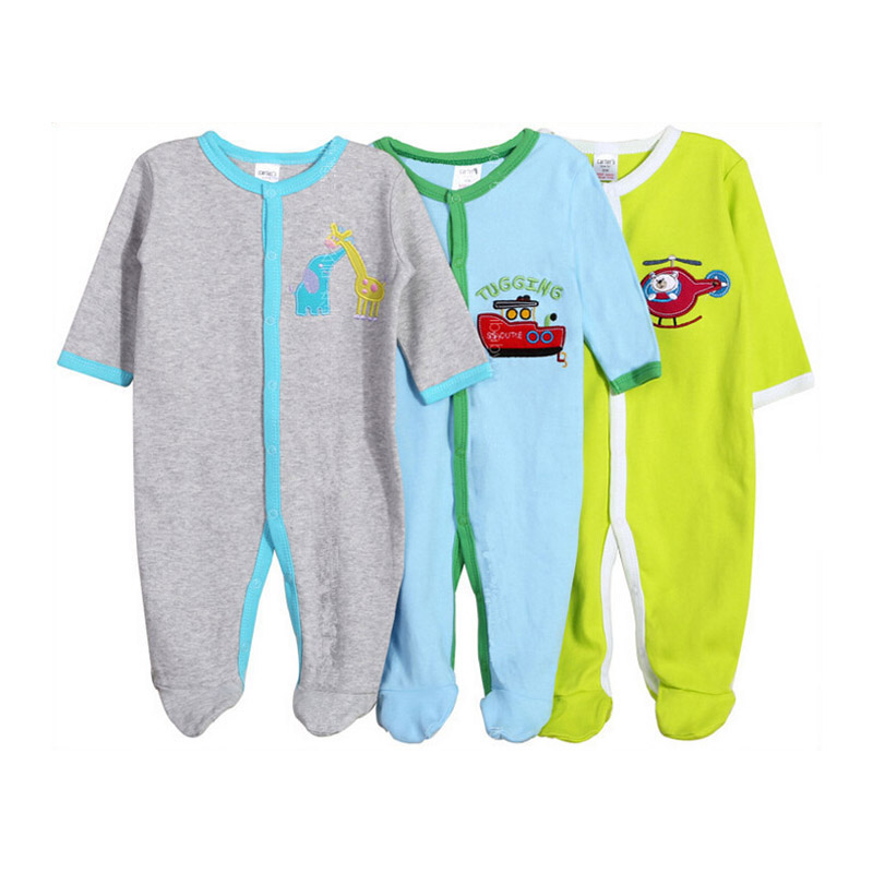Baby Rompers 3 Pieces Autumn Thick Warm Ropa baby girls boys Jumpsuit newborn toddle clothing Cotton Overall Kids Clothes 3-24M baby rompers cotton long sleeve 0 24m baby clothing for newborn baby captain clothes boys clothes ropa bebes jumpsuit custume