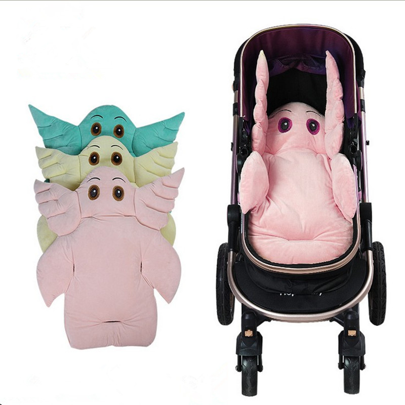 manufacturers wholesale velvet thicken warm earthquake baby car seat cushion stroller seat. Black Bedroom Furniture Sets. Home Design Ideas