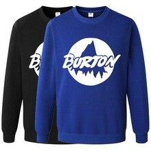 Burton Skateboard Sweatshirt Hoodies Fashion Solid Clothes Hip Hop Pullover Men's Tracksuits Autumn Winter Asian Size RAW0461