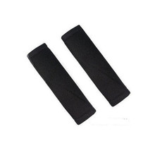 car safety belt shoulder pad set Sandwich auto safety belt protect cover 2pcs/pair black red grey beige safety car