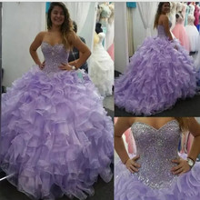 kejiadian Online Quinceanera Dresses Ball Gown Prom Dresses