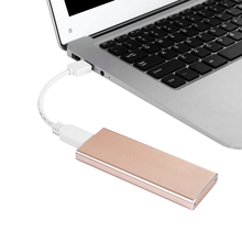 Leadzoe USB C 3.1 Hard Drive Enclosure Type C 3.1 10Gbps External Case For M.2 NGFF SSD Solid State Drive Support 2242/2260