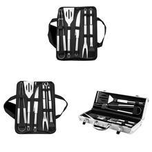 5 шт./9 шт. набор инструментов для барбекю Кухня вилка зажим щетка для лопаты гриль набор Кемпинг-гриль на открытом воздухе аксессуары