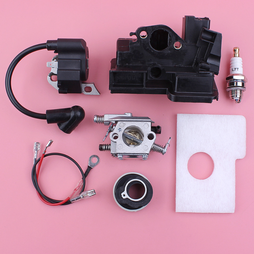 Carburetor Ignition Coil Air Filter Housing Kit For Stihl MS180 MS170 018 017 MS 180 170 Walbro Carb Chainsaw Part бензопила stihl ms 180 14