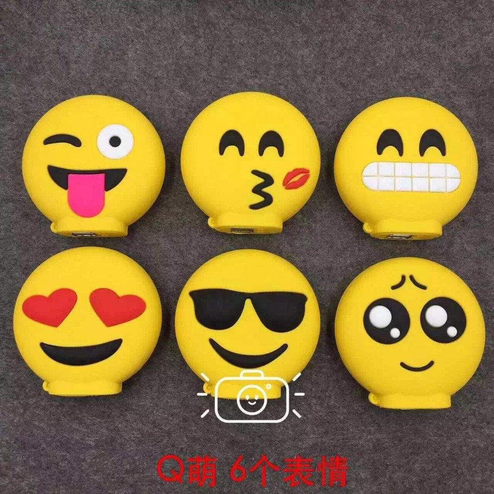 Emergency 5 171 creature factory - 2016 New Portable Emoji Power Bank 8800mah Battery Charger For Iphone7 7plus 6 6s 5s Xiaomi