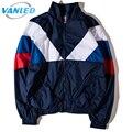 Gosha Rubchinskiy Brand Jacket Men Patchwork Retro Hip Hop Streetwear Windbreaker Women Jackets Windrunner Spring Plus Size