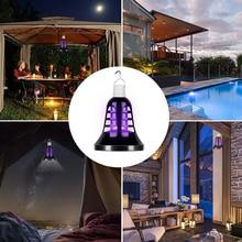 USB 220V E27 LED Mosquito Killer Lamp 8W Ball Light 2 In 1  Zapper Insect Anti Repellent Fly Bug UV Bulb Outdoor