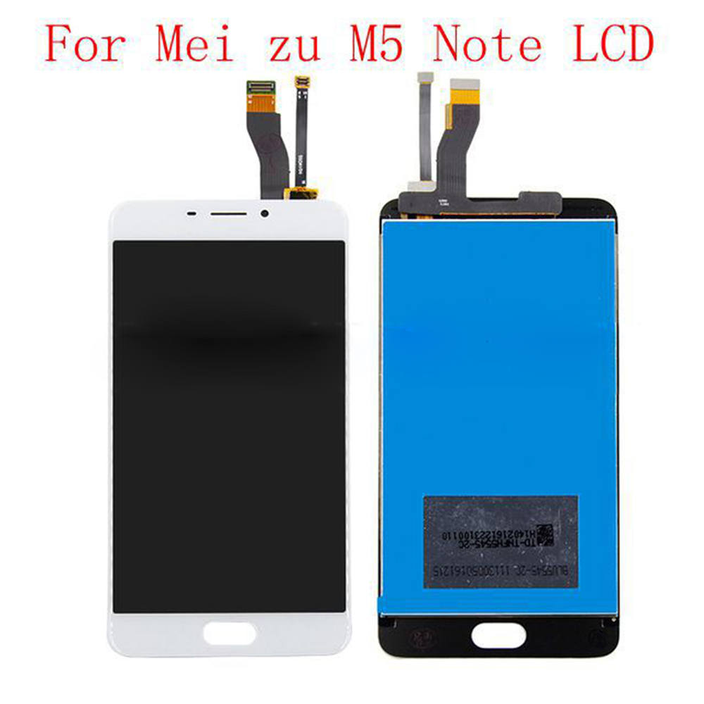 LCD Display Touch Screen Digitizer Assembly for MEIZU M5 Note M621H <font><b>M621Q</b></font> M621M M621C Replacement Mobile LCDs Touch Screen image