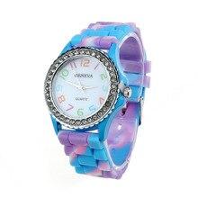 Crystal Glitter Digital Quartz Wrist Watch