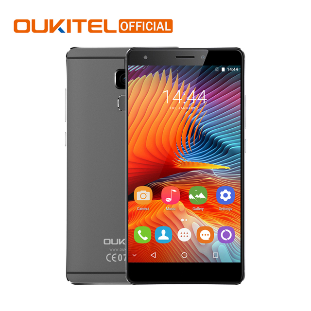 Oukitel U13 5.5 Inch Screen Fingerprint Smartphone Android 6.0 3GB RAM+64GB ROM Cell Phone MTK6753 Octa Core Mobile Phone