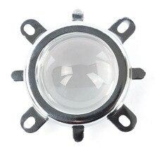 3 Шт./1 Компл. Ип 44 мм Объектив + Отражатель Коллиматорный + Фиксированный кронштейн Для 20 Вт-100 Вт Светодиодная Лампа DIY