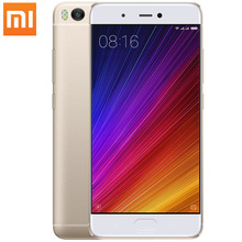 D'origine Xiaomi Mi5s Smartphone 5.15 Pouce Snapdragon 821 Quad Core 3 GB RAM 64 GB ROM Mi 5S 4 K Vidéo D'empreintes Digitales ID Mobile Téléphones