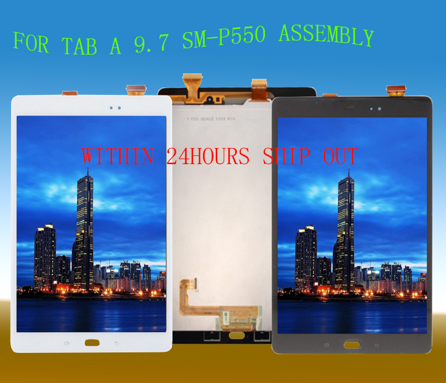 STARDE Replacement LCD For Samsung Galaxy Tab A 9 7 P550 P555 LCD Display Touch Screen