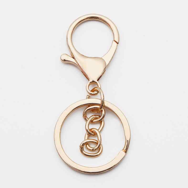 Kẽm hợp kim key clasp tình yêu hình trái tim keyring màu con dấu con dấu dầu kim loại clasp túi TỰ LÀM mặt dây tôm hùm clasp phụ kiện