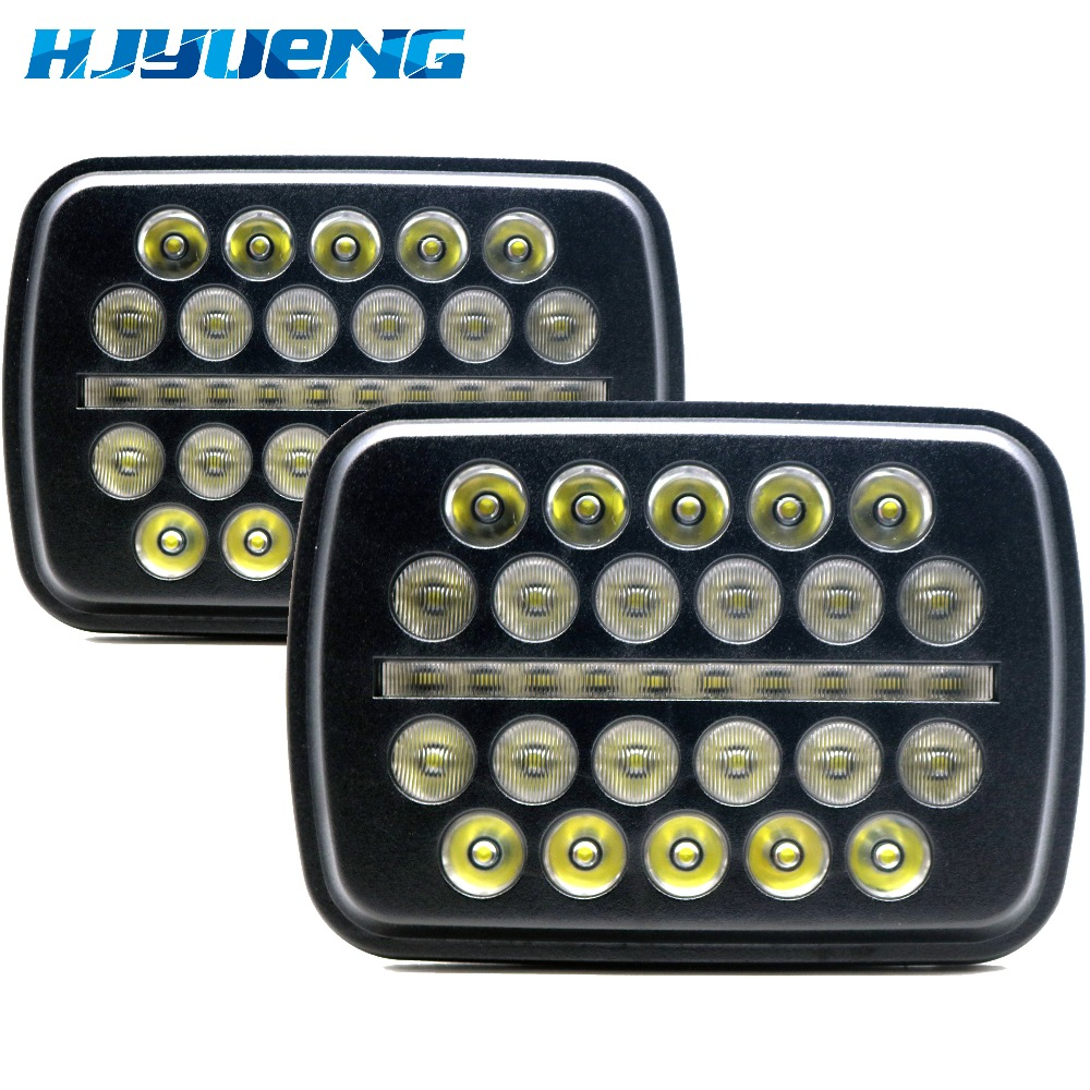 squar LED Headlight DRL Conversion Sealed Beam for Jeep Cherokee XJ Trucks 5x7LED Headlight DRL Hi/Lo Beam For Toyota Pickup humidifier home mute high capacity bedroom office air conditioning air purify aromatherapy machine