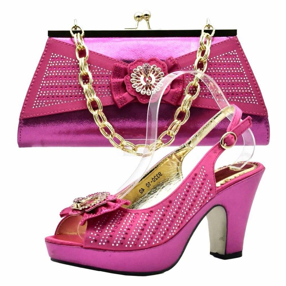 Chaud Sac À Femmes Correspondre Belles De Fushia Italien Des Africain Pour Aso Rose Chaussures Noce Ebi Sb8182 3 Et Sandales nXFnI0Ea