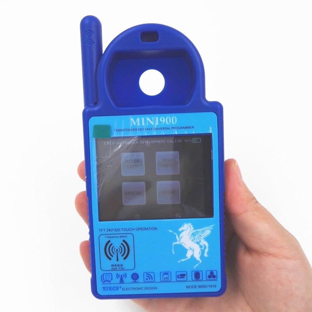 Цена за Последние V1.13 Smart Mini ND900 trasponder ключ программист для 4C 4D ID46 72 г chip copy машины с Bluetooth обновление через Интернет
