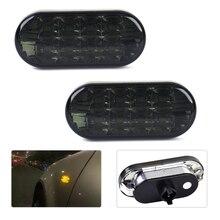 Dwcx 2 шт. автомобиль желтый свет светодиодный левая + правая сторона габаритные лампы для VW Passat B5 Jetta Golf MK4 1998 1999 2000 2001 2002 2003 2004