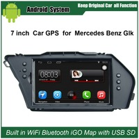 Upgraded Original Android 7.1 Car Radio Player Suit to Mercedes Benz Glk Car Video Player Built in WiFi GPS Navigation Bluetooth