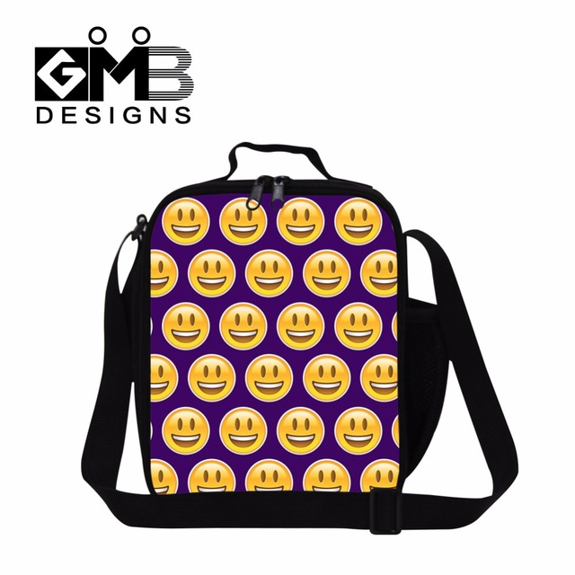 e8d91c9f0e3a Funny insulated lunch cooler bag for children school Picnic Bags for adult  work food bag with