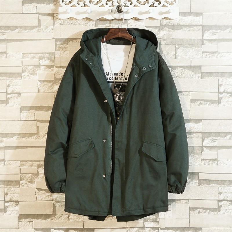PLUS SIZE 10XL 8XL 6XL 5XL new arrival jackets men brand clothing autumn spring black hooded coat male top quality windbreaker - 6