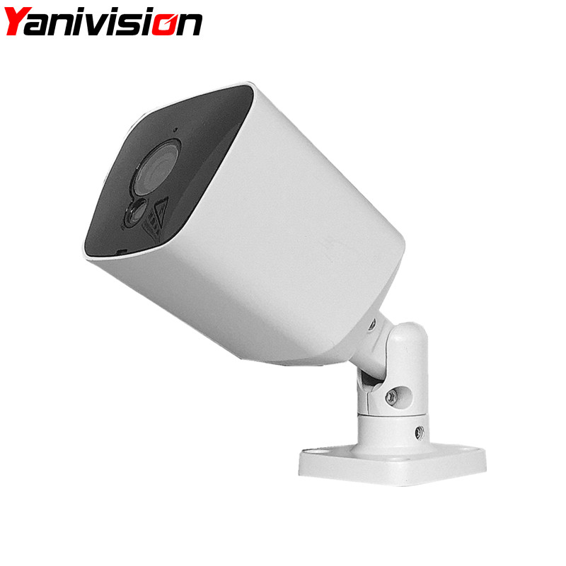 Motion Detection Night Vision Array Leds Outdoot IP66 Waterproof Security Surveillance CCTV Bullet IP Camera 1080P HD 5MP H.265