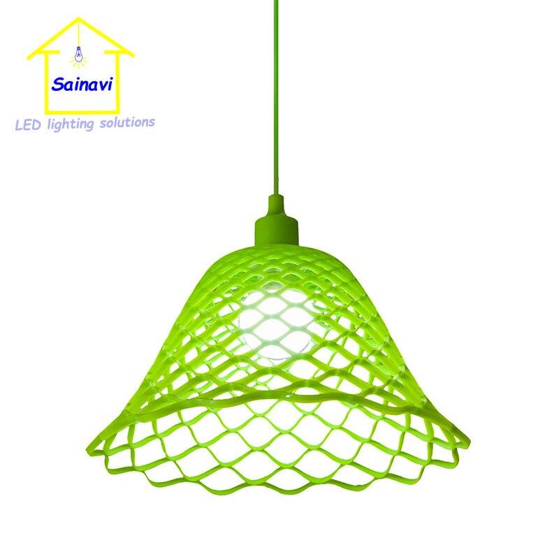 50 Pcs 1M Cord Silicone Lampshade Pendant Light DIY Edison