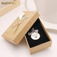 Grey Anatomy you're my person Lucky Clover Crystal Pendant Stainless Steel Chain Necklace Charm Gift For Lover couple friend new